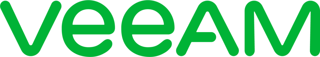 Logotipo oficial de Veeam Software de color verde