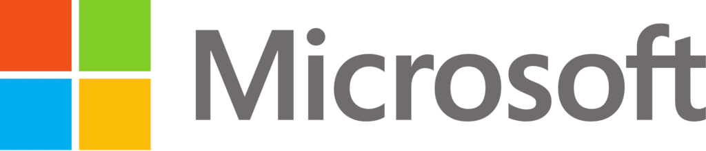 Logotipo oficial de Microsoft