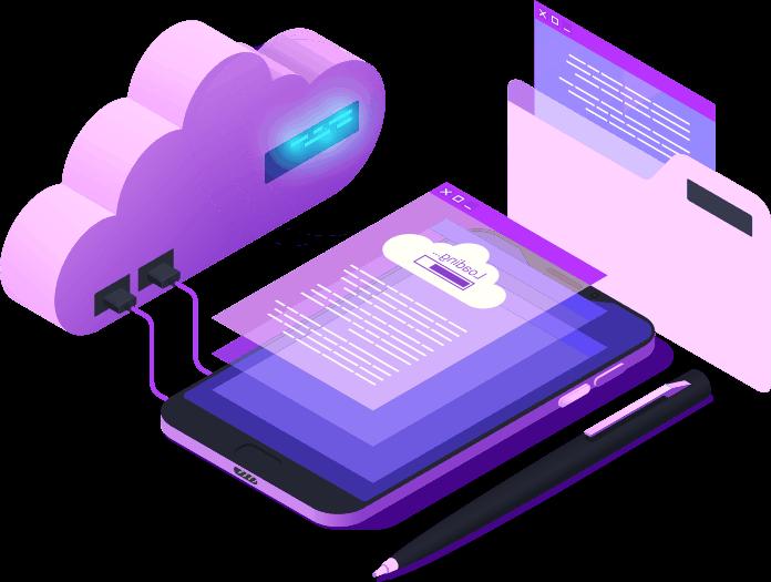 dispositivos enviando información a la nube